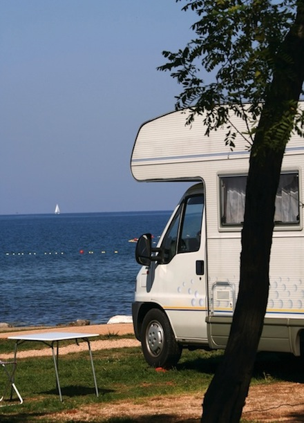 RV at the Beach