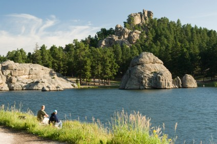 Sylvan Lake Black Hills South Dakota
