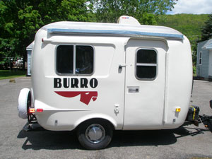 Burro Rv Tin Can Tourists