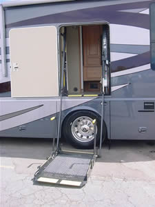 Wonderful Class A With Electric Wheelchair Lift Class A Motorhome