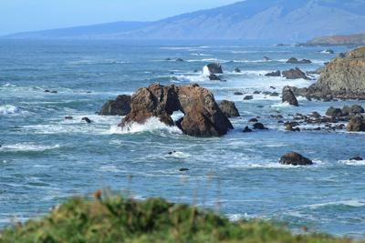 Arch Rock at Bodega Bay