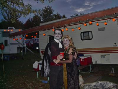 Campground Costume Party