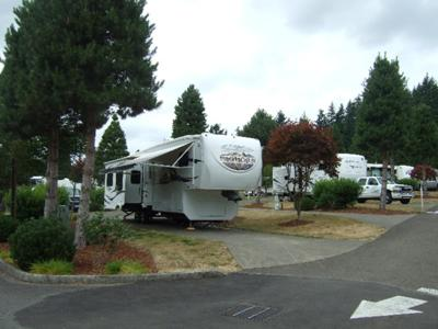 Beautiful Wooded Rv Resort