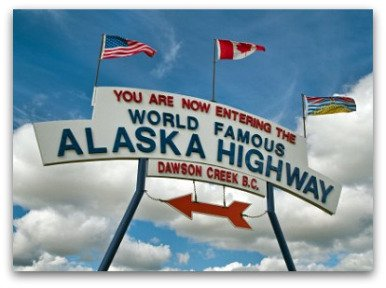 Alaska Highway Dawson Creek BC
