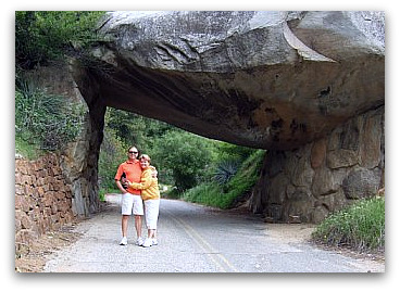 Kings Canyon Tunnel Rock