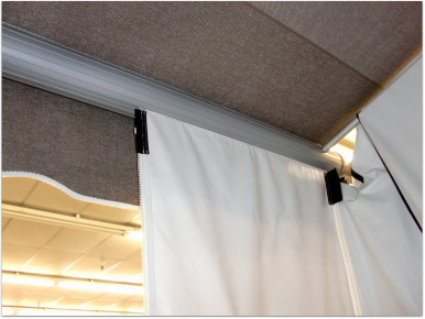 Slide in Awning Privacy Shade