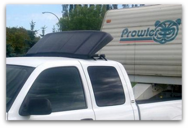 Using A Wind Deflector Saves Gas
